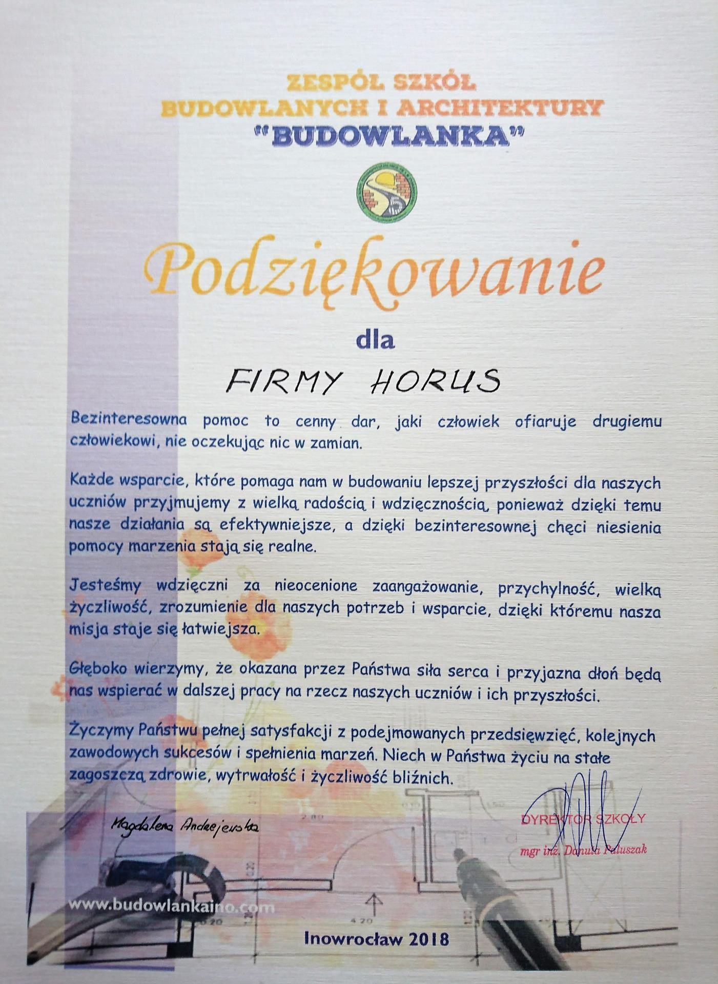 Akademia Horus w Inowrocławiu ZSP nr 5
