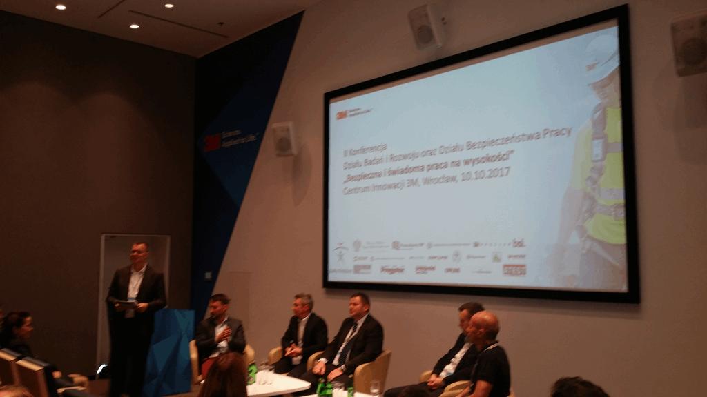 Konferencja 3M Bezpieczna praca na wyskości