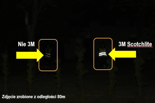 981b82544dc955 Tylko najwyższej jakości materiały odblaskowe Scotchlite 3M posiadają  wysoką jakość odblaskową w skrajnych warunkach. Dzięki zaawansowanej  technologii ...