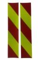 Folia odblaskowa 3M 3 generacji - pasy lewe
