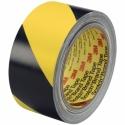 Taśma winylowa 3M 766i, żółto-czarna, 50mm x 33m