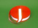 3M 8710 z podkładem fluorescencyjnym pomarańczowym