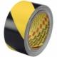 Taśma winylowa 3M 5702, żółto-czarna, 50mm x 33mb