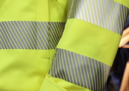 NOWOŚĆ - materiał odblaskowy Scotchlite 5535 - trudnopalność + wysoka widoczność