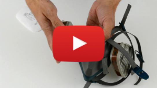 [WIDEO] Montaż filtrów i pochłaniaczy do półmaski