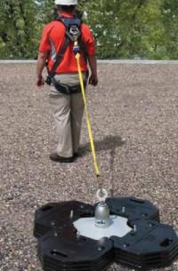 Praca na wysokości - mobilny punkt kotwienia 3M DBI-SALA