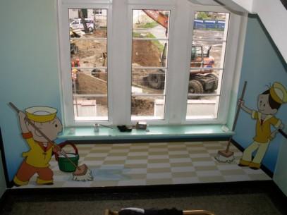 Wojewódzki Szpital Dziecięcy bardziej kolorowy