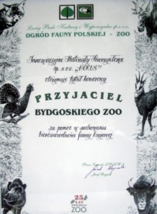 Przyjaciele Bydgoskiego ZOO 2003