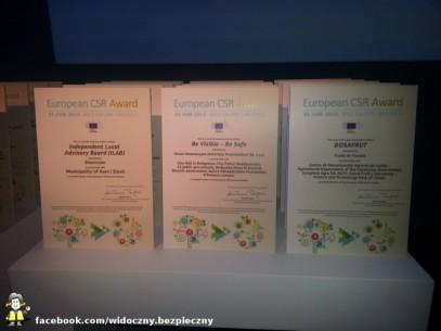 European CSR Award - ceremonia finałowa w Brukseli