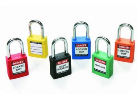 Kłódki bezpieczeństwa Brady i różne systemy kluczy
