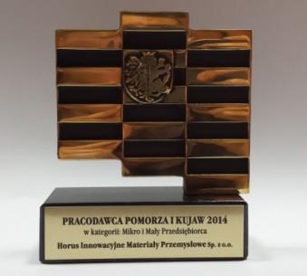 Horus najlepszym pracodawcą Pomorza i Kujaw 2014!