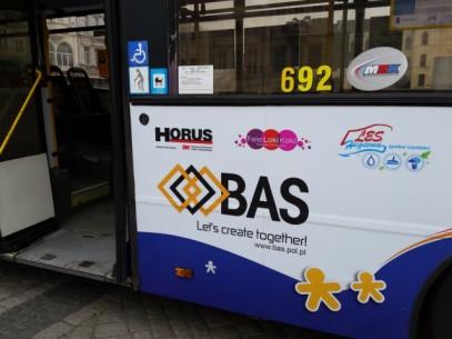 Odblask to nie obciach - oklejony autobus po raz trzeci