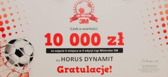 Liga Mistrzów 3M - wygrywamy!