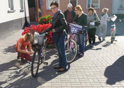 Cykliści bezpieczniejsi w Łabiszynie
