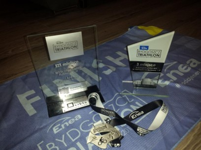 Bydgoszcz Triathlon 2017 - podium!