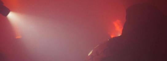 [WIDEO] Dzień Budownictwa - symulacja ewakuacji z płonącego budynku