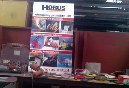 Horus na dniach klienta w hurtowni stali