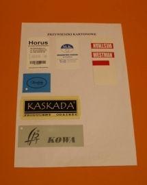 Przywieszki papierowe e-309