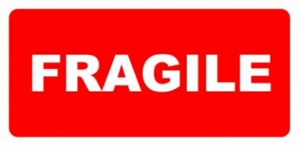 Etykieta ETH-04i Fragile