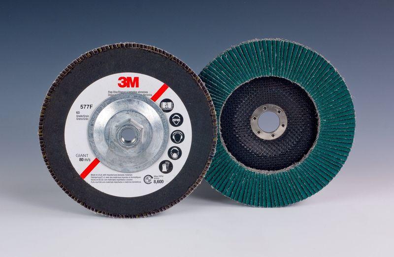 3M 577F (64847) Dysk lamelkowy uchylny na rzep 115mm P40