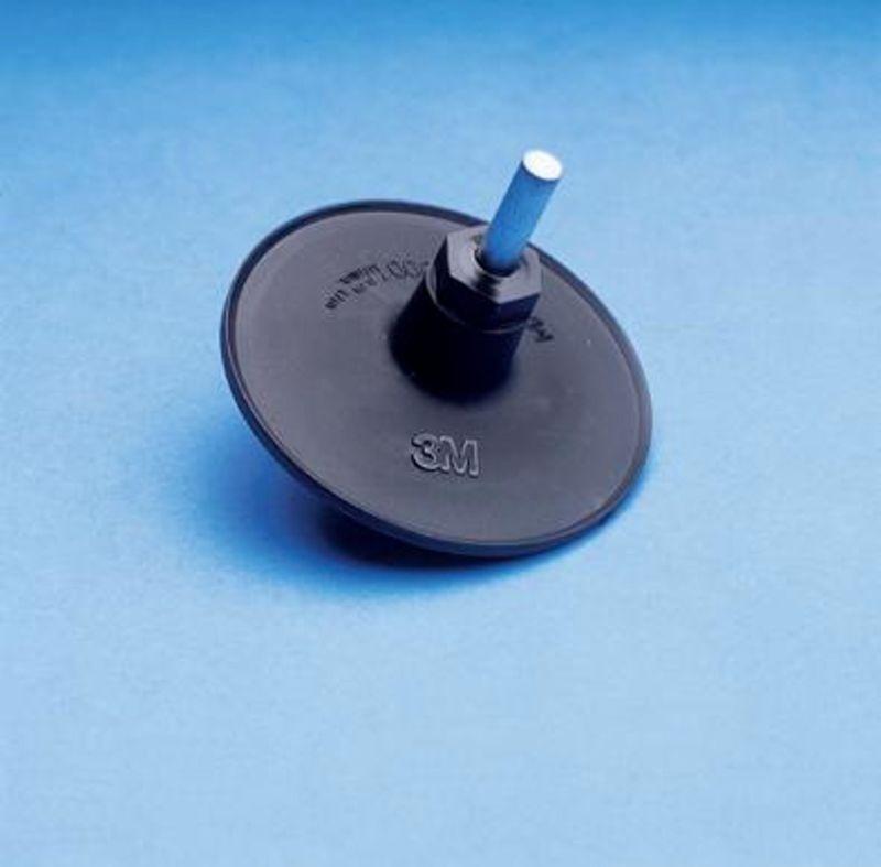 3M PN09988 Podkładka / Uchwyt ROLOC+ Nr 4 czarna 75mm