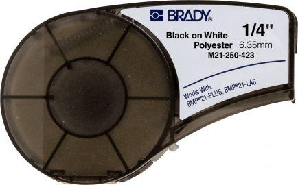 Brady M21 B-423, B-430, B-488 Taśmy poliestrowe do oznaczania komponentów