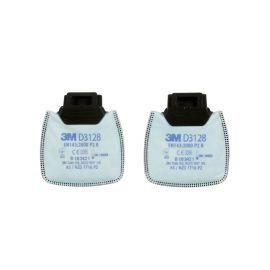 3M D3128 Filtr przeciwpyłowy P2R NUIS OV/AG