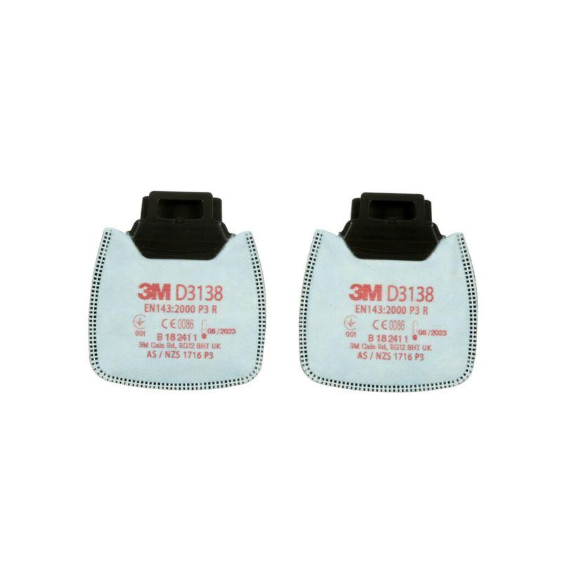 3M D3138 Filtr przeciwpyłowy P3R NUIS OV/AG