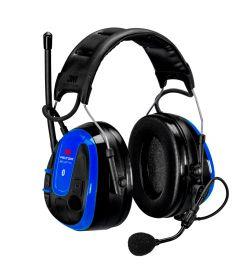 3M MRX21A3WS6 Peltor WS Alert XPI Ochronniki słuchu z radiem, niebieskie