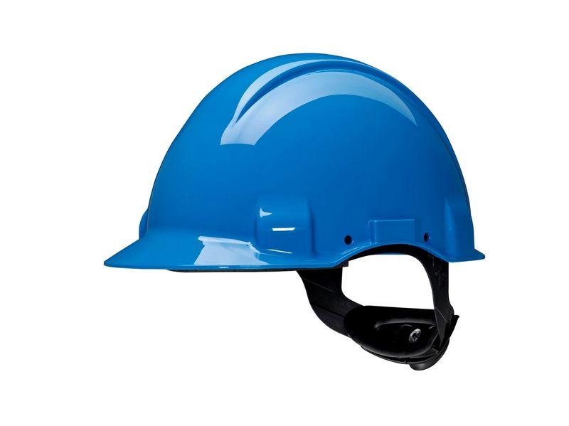 Hełm ochronny Solaris G3001 CUV niebieski