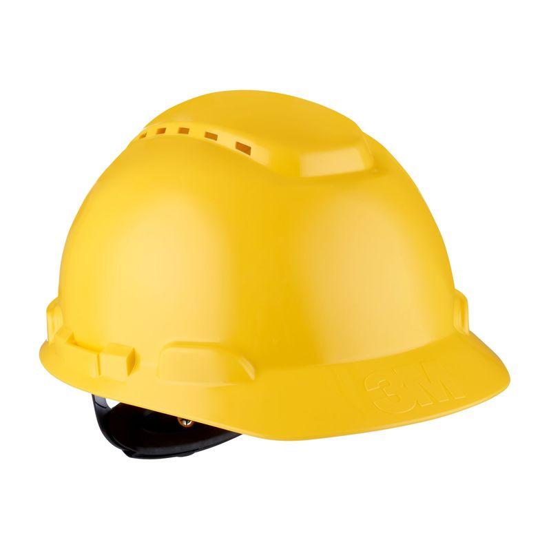 Kask 3M H-700N żółty z regulacją śrubową