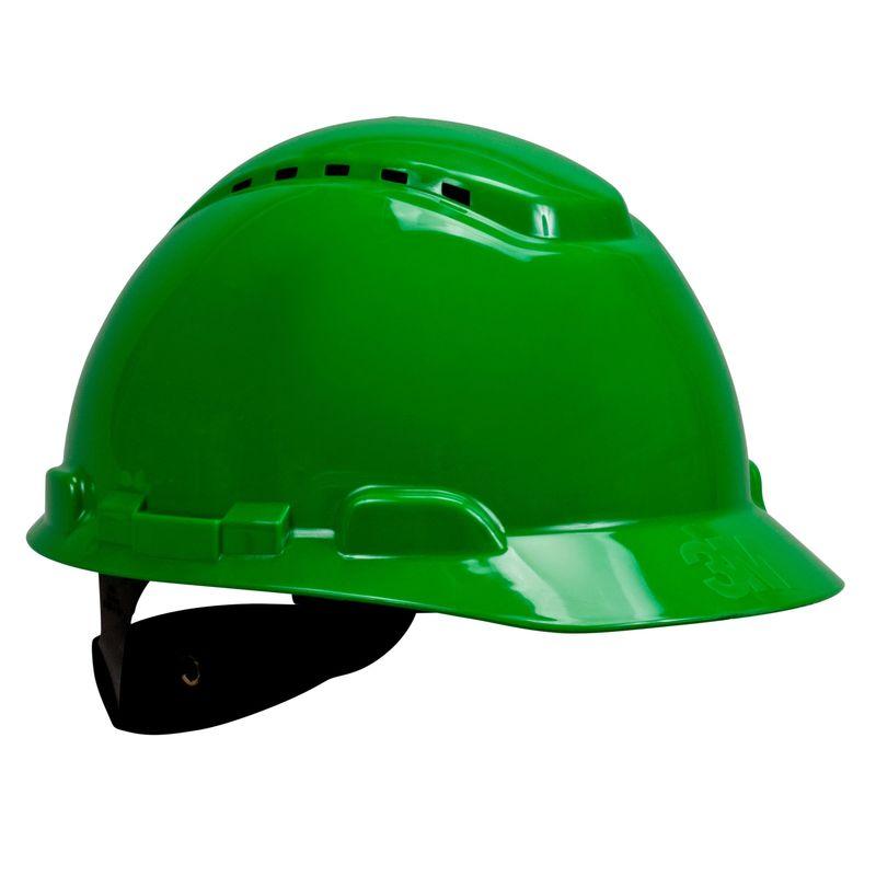 Kask 3M H-700N zielony z regulacją śrubową