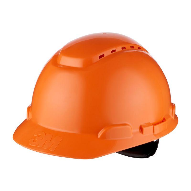 Kask 3M H-700N pomarańczowy z regulacją śrubową