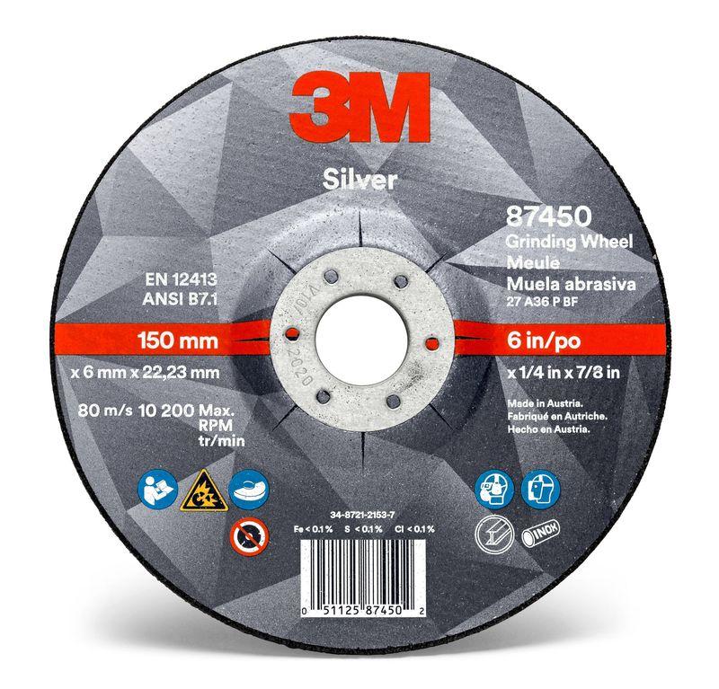 3M 51751 Tarcza do szlifowania Silver 230x7x22 mm