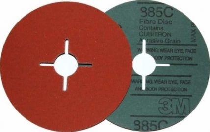 3M 985C Krążki fibrowe do stali nierdzewnej