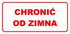 Etykieta ETH-19 Chronić od Zimna