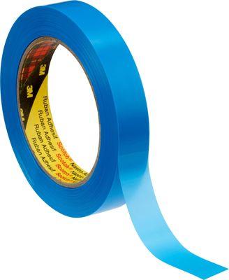 3M 6876 Tartan Taśma z włóknem szklanym, 19 mm x 66 m, niebieska