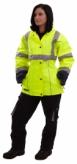 Kurtka fluorescencyjna dla kobiet Coverguard Airport