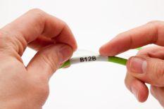 Brady M21 B-427 Samolaminujące etykiety do przewodów i kabli